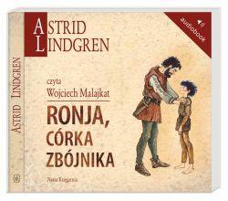 Okładka książki - Ronja, córka zbójnika. Audiobook