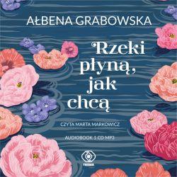 Okładka książki - Rzeki płyną, jak chcą (audio CD MP3)