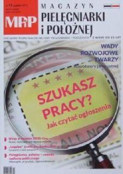 Okładka książki - Magazyn pielęgniarki i położnej nr 12/grudzień 2017