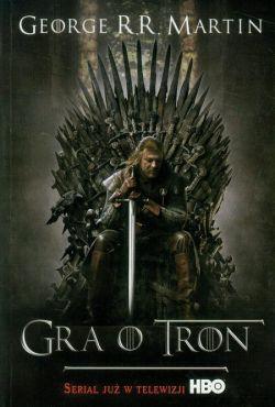 Okładka książki - Gra o tron