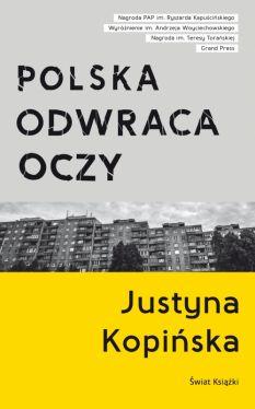 Okładka książki - Polska odwraca oczy