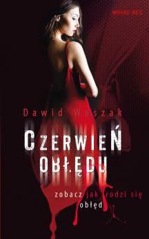 Okładka książki - Czerwień obłędu