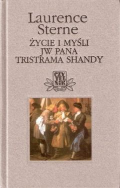 Okładka książki - Życie i myśli JW Pana Tristrama Shandy