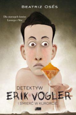 Okładka książki - Detektyw Erik Vogler i śmierć w kurorcie