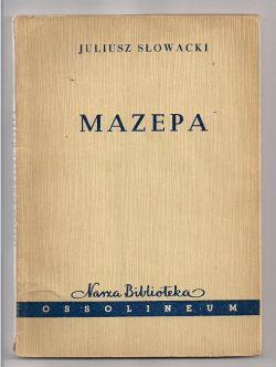 Okładka książki - Mazepa