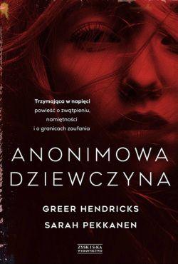 Okładka książki - Anonimowa dziewczyna