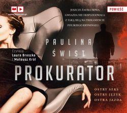 Okładka książki - Prokurator (audiobook)