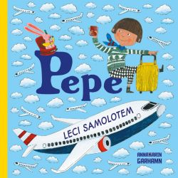 Okładka książki - Pepe leci samolotem