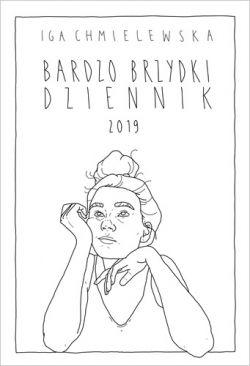 Okładka książki - Bardzo brzydki dziennik