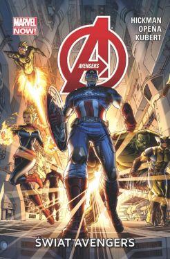 Okładka książki - Avengers.  Świat Avengers