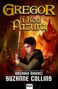 Okładka książki - Gregor i Kod Pazura