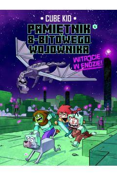 Okładka książki - Minecraft. Pamiętnik nooba wojownika (Tom 4). Witajcie w Endzie!