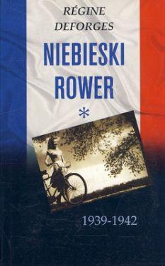 Okładka książki - Niebieski rower 1939-1942