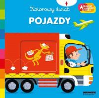 Okładka książki - Pojazdy. Akademia mądrego dziecka. Kolorowy świat