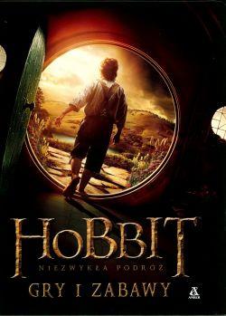 Okładka książki - Hobbit. Niezwykła podróż. Gry i zabawy
