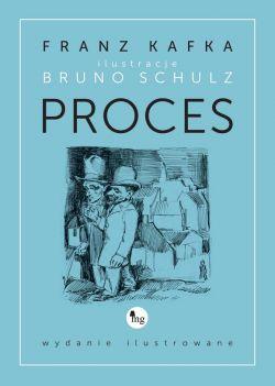Okładka książki - Proces. Wydanie ilustrowane