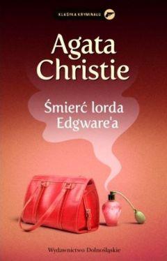 Okładka książki - Śmierć lorda Edgware