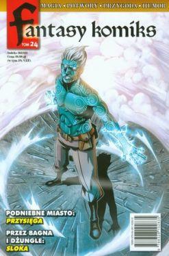 Okładka książki - Fantasy Komiks. Tom 24