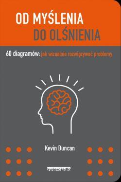 Okładka książki - Od myślenia do olśnienia. 60 diagramów: jak wizualnie rozwiązywać problemy
