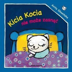 Okładka książki - Kicia Kocia nie może zasnąć