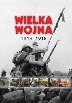 Okładka książki - Wielka wojna 1914-1918