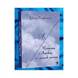 Okładka książki - Rozmowy z Aniołem w czasach zarazy