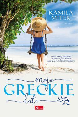 Okładka książki - Moje greckie lato