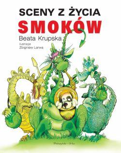 Okładka książki - Sceny z życia smoków