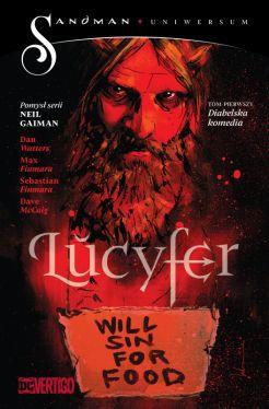 Okładka książki - Lucyfer  Diabelska komedia, tom 1
