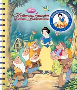 Okładka książki - Królewna Śnieżka i siedmiu krasnoludków