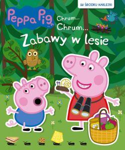 Okładka książki - Peppa Pig Chrum... Chrum... Zabawy w lesie