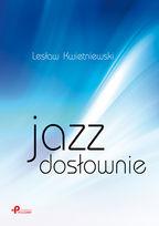 Okładka książki - Jazz dosłownie