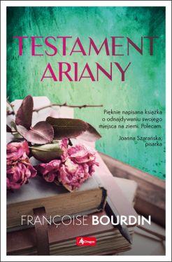 Okładka książki - Testament Ariany