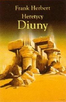Okładka książki - Heretycy Diuny