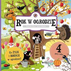 Okładka książki - Rok w ogrodzie