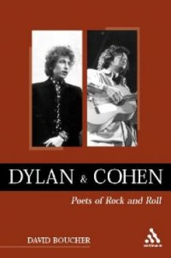 Okładka książki - Dylan & Cohen, poets of Rock&Roll