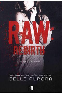Okładka książki - RAW: REBIRTH