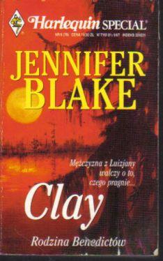 Okładka książki - Clay