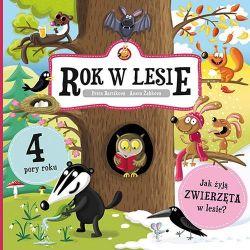 Okładka książki - Rok w lesie