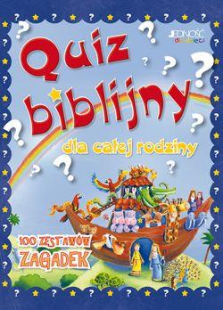 Okładka książki - Quiz biblijny dla całej rodziny