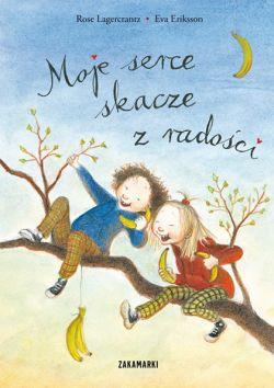 Okładka książki - Moje serce skacze z radości