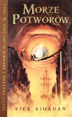 Okładka książki - Morze potworów