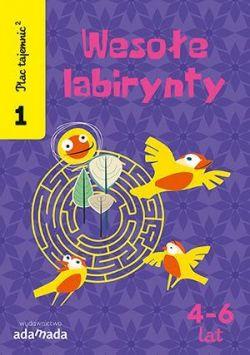 Okładka książki - Plac tajemnic 2. Wesołe labirynty 1