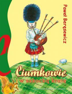 Okładka książki - Ciumkowie w szkocką kratę