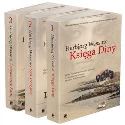 Okładka książki - Trylogia Diny. Trylogia Diny. Pakiet (3 tomy)