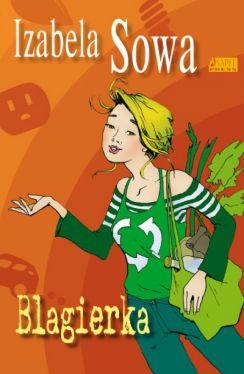 Okładka książki - Blagierka