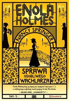 Okładka książki - Enola Holmes. Sprawa osobliwego wachlarza