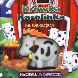 Okładka książki - Krówka Karolinka na wakacjach