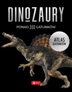 Okładka książki - Dinozaury. Atlas gatunków