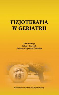 Okładka książki - Fizjoterapia w geriatrii